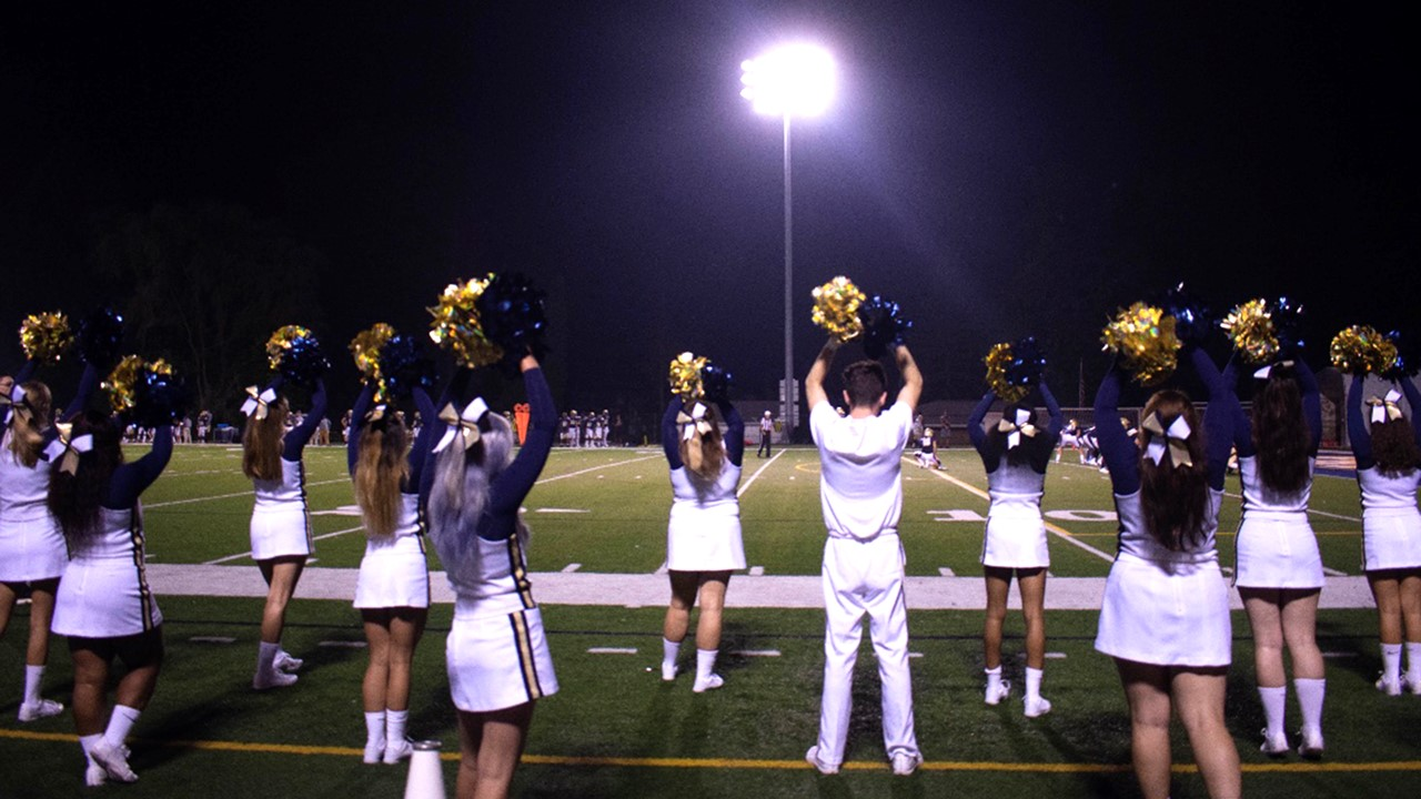 cheerleading thiel college athletics